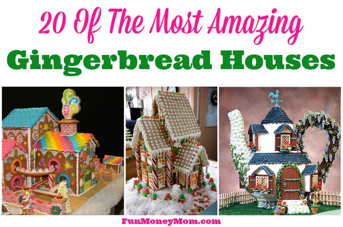 20 Of The Most Amazing Gingerbread Houses