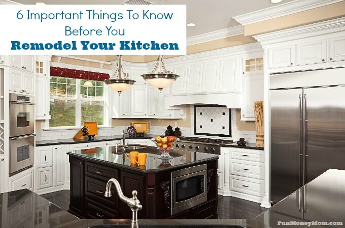 Planning a kitchen remodel? From appliances to counters, there's a lot to think about. Don't get started until you read these important tips!