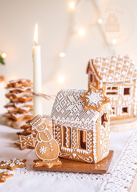 Lebkuchen gingerbread house