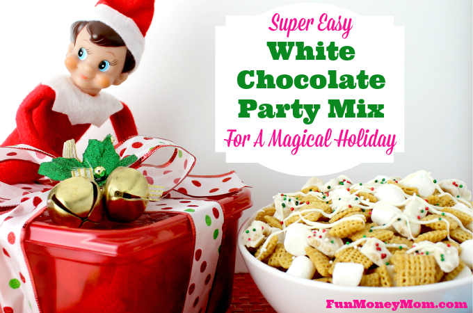 White Chocolate Party Mix For A Magical Holiday