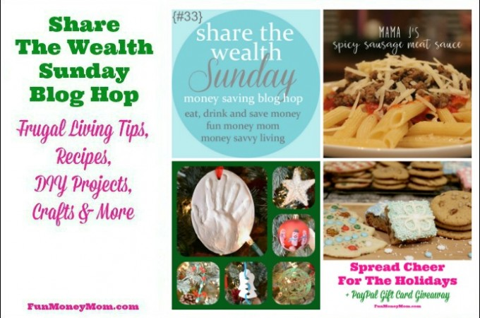 Share The Wealth Sunday Blog Hop #33