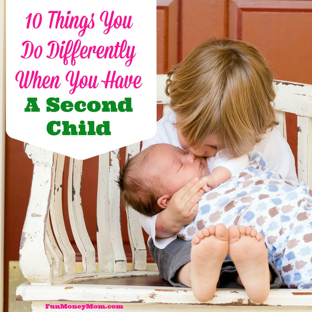 10-things-you-do-differently-when-you-have-a-second-child