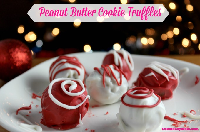 Bake Memories With Peanut Butter Cookie Truffles