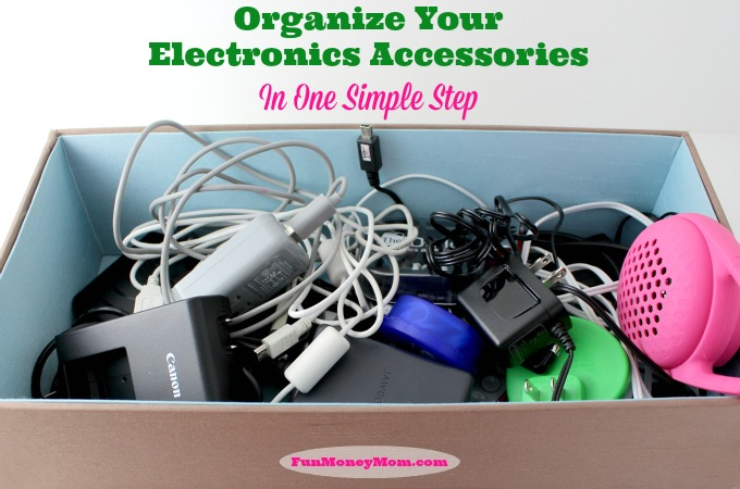 Organize Your Electronics Accessories In One Simple Step