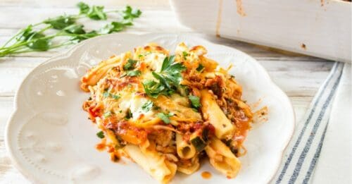 Easy baked ziti FB