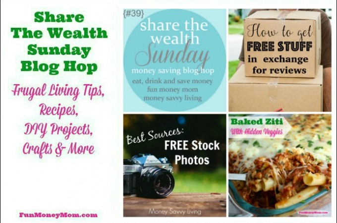 Share The Wealth Sunday Blog Hop #39