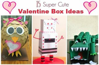 Valentine boxes feature