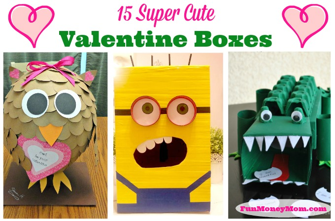 15 Super Cute Valentine Boxes
