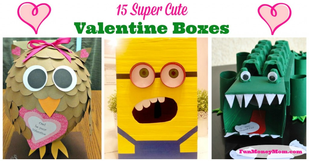 15 Valentine's Day Boxes for school