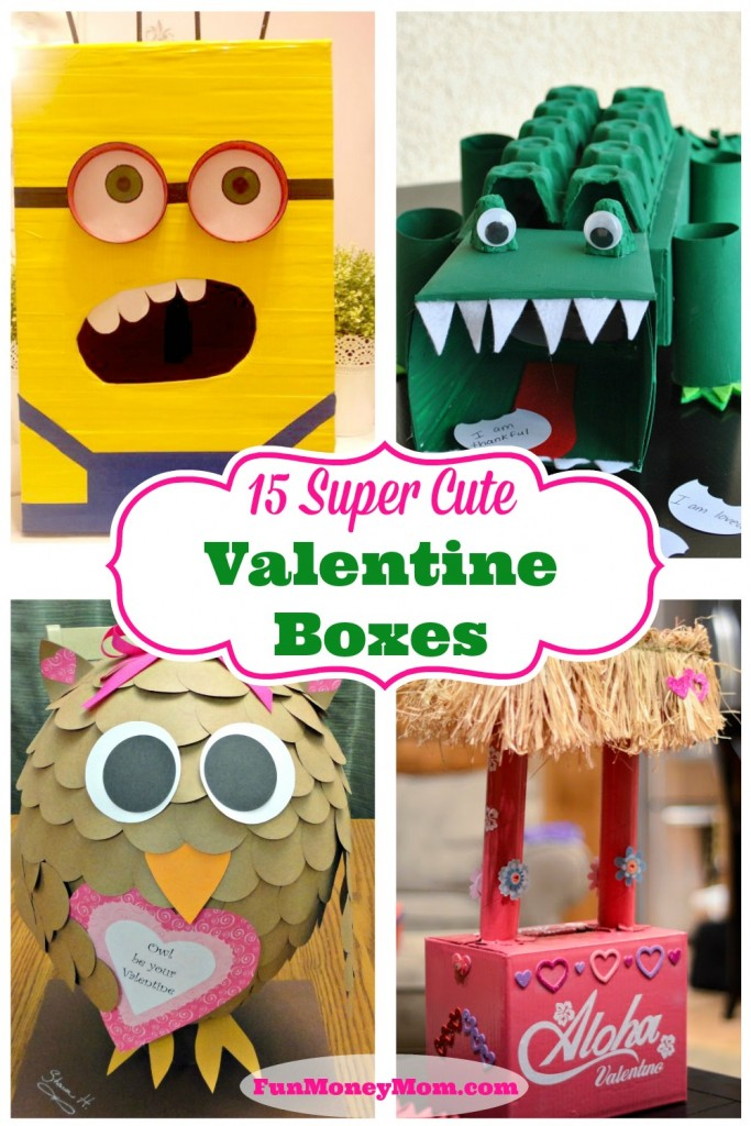 15 Super Cute Valentine Boxes Fun Money Mom