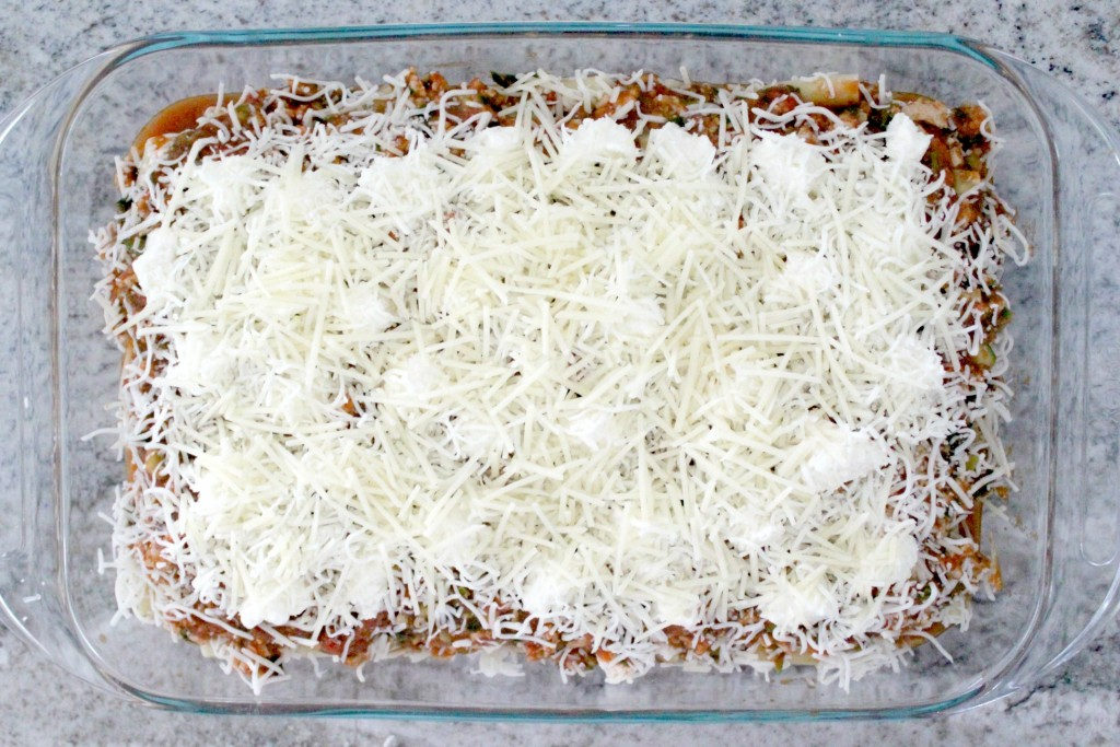 A good baked ziti needs lots of cheese