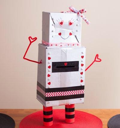 Valentines-box-robot