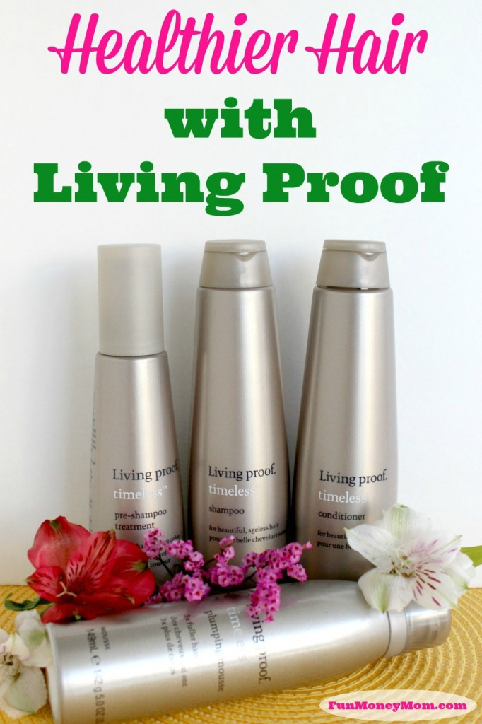 Want healthier hair? It's easy with Living Proof hair products! #AgeWisely #IC #ad
