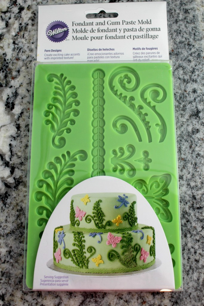 The mold is perfect for making the greenery on your Rapunzel cake