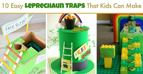 Leprechaun traps for kids