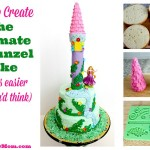 How To Make The Ultimate Rapunzel Cake (and it's easier than you'd think)
