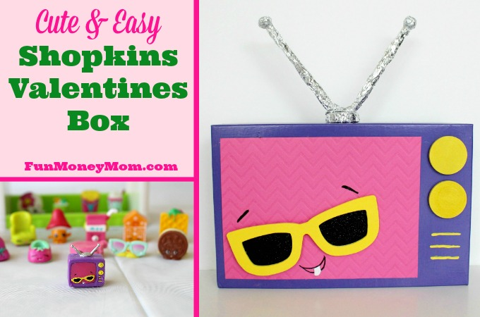 Cute & Easy Shopkins Valentines Box