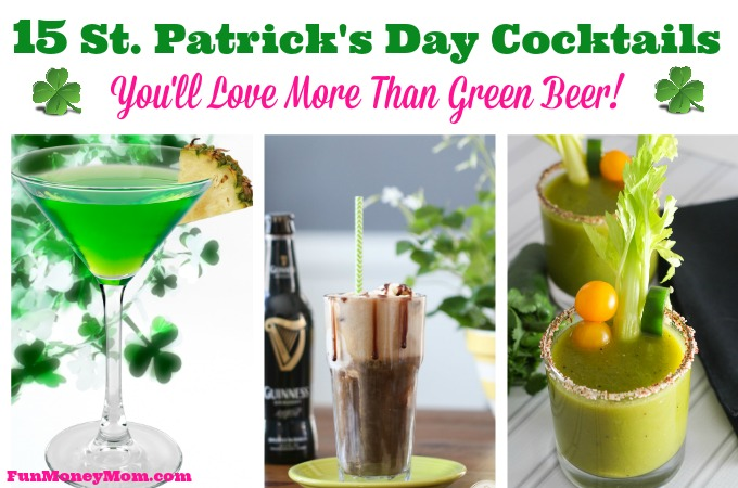 15 St. Patrick's Day Cocktails You'll Love More Than Green Beer