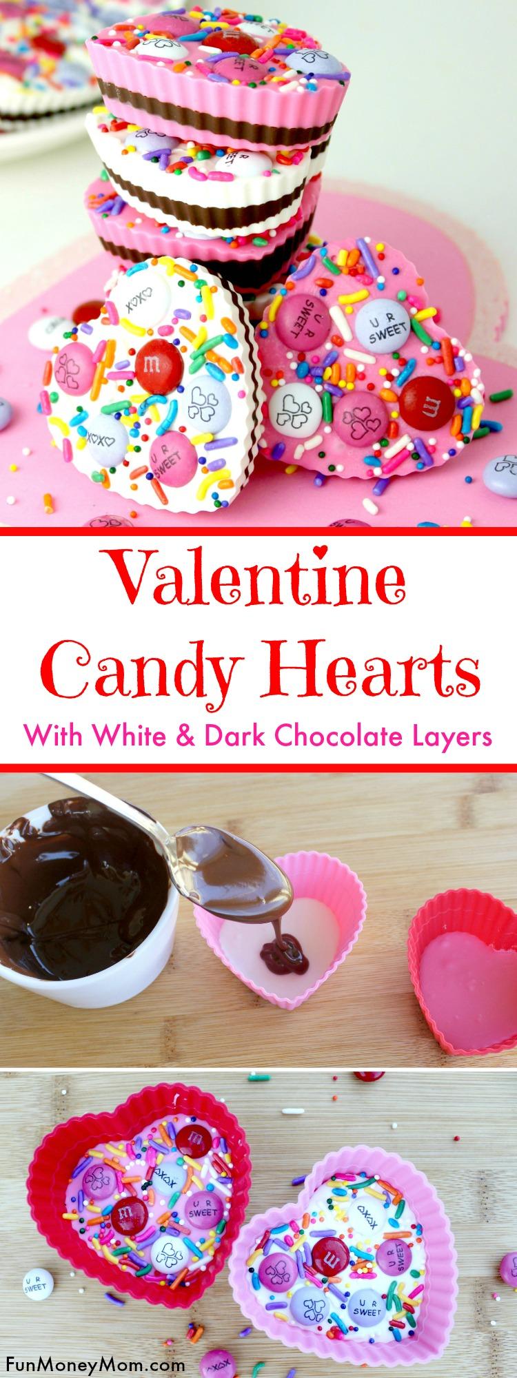 Valentine candy hearts pinterest