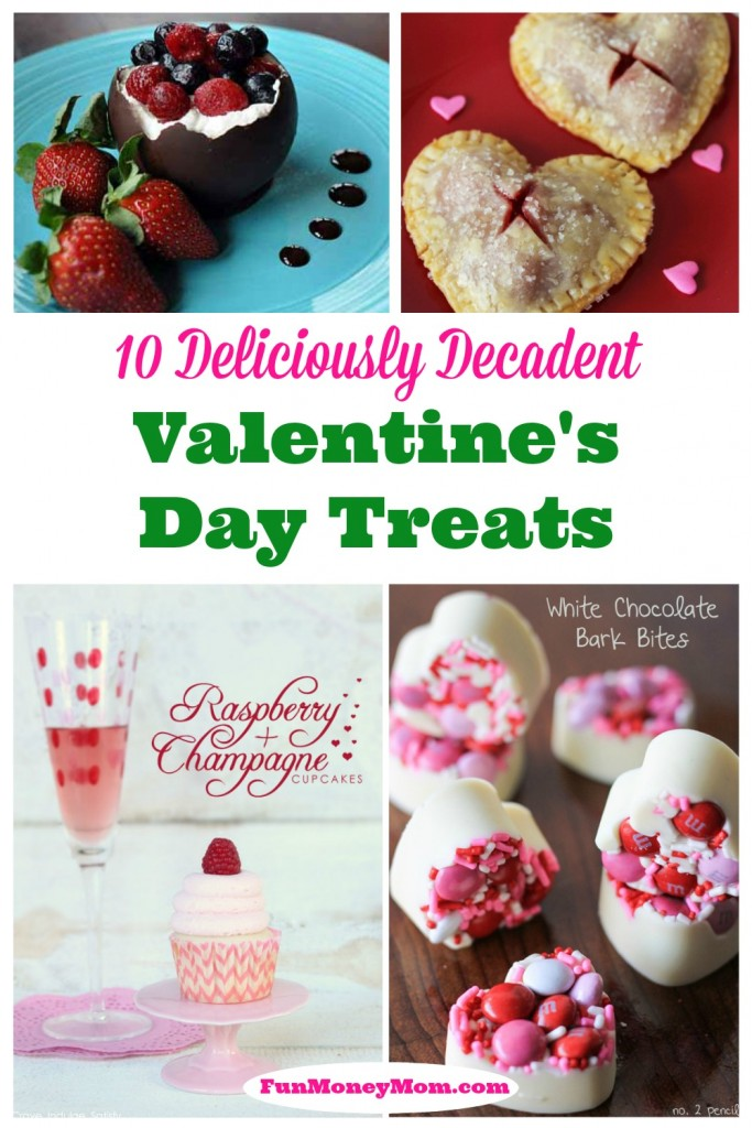 There's no better way to celebrate Valentine's Day than indulging in some decadent Valentine's Day treats!