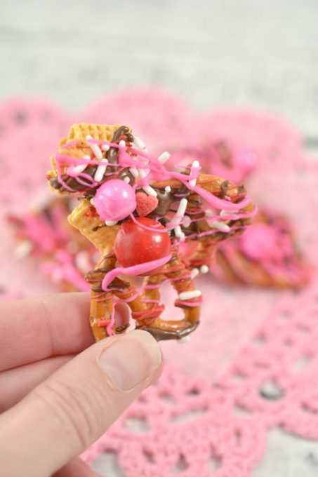 Sweet & Salty Valentine's Day Bark