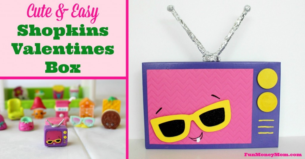 Cute Ideas For Valentine's Day Boxes: Shopkins TV