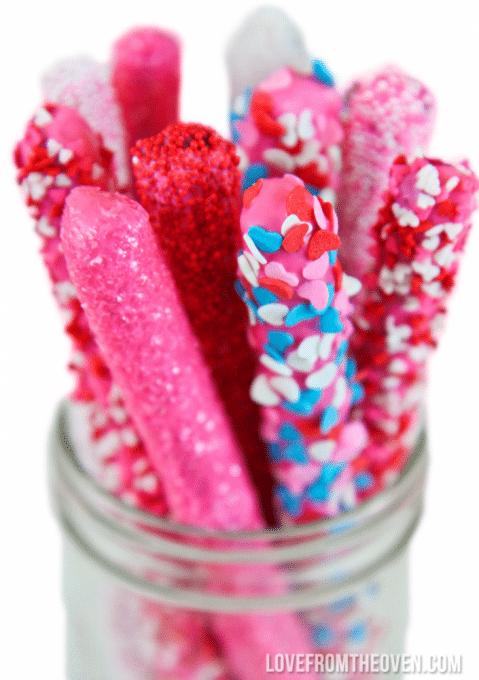 Pretzel Valentine's Day Desserts