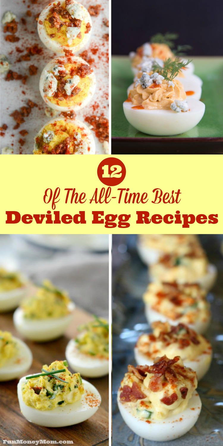 With ingredients like bacon, goat cheese and jalapenos, these deviled eggs will be the first party food to disappear at your next get-together!