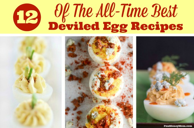 A Dozen Of The All-Time Best Deviled Egg Recipes