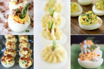 Deviled eggs feature