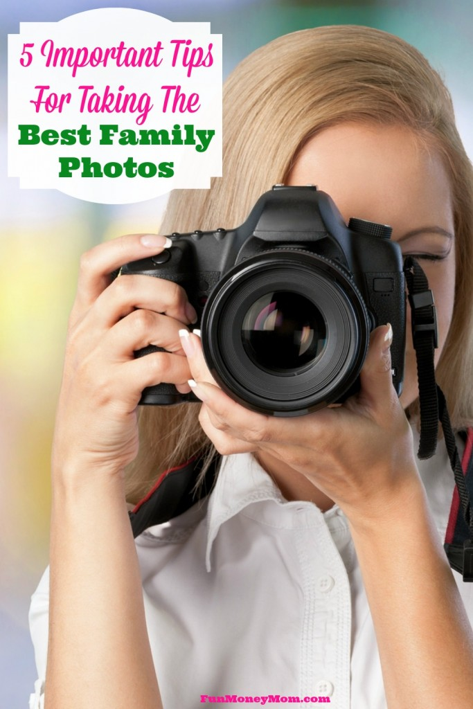 Follow these tips from a professional photographer to make your family photos turn out as good as hers!