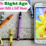 What Is The Right Age To Get Your Child A Cell Phone?