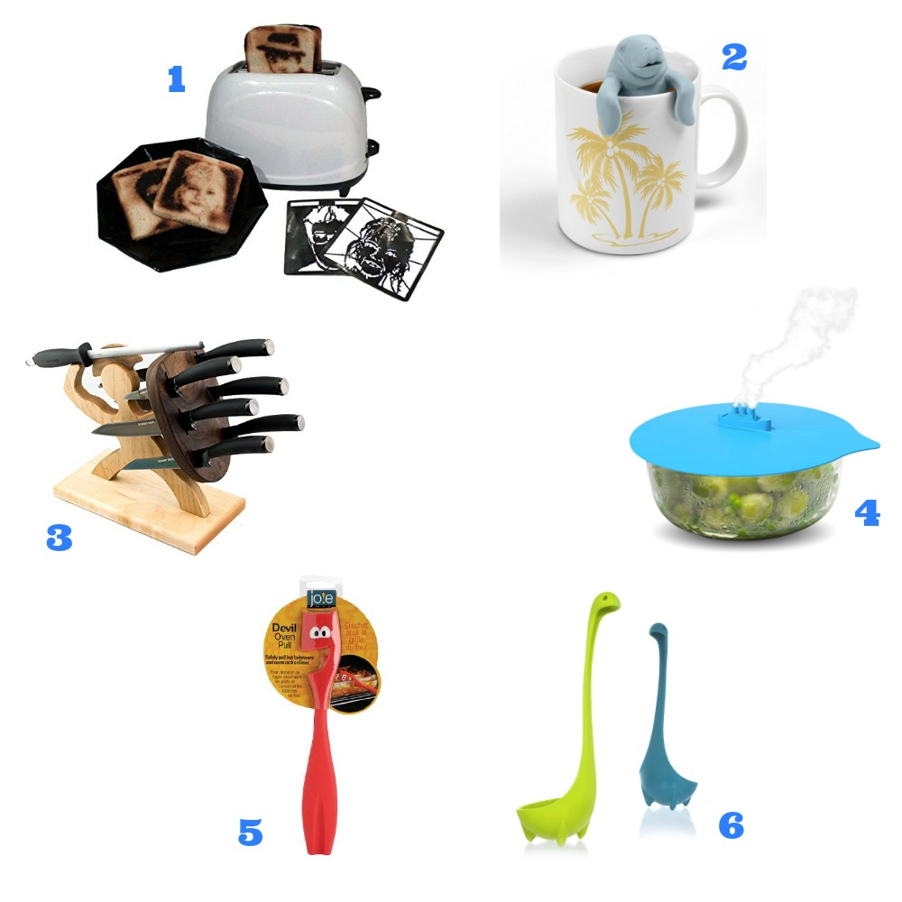 Kitchen gadgets collage 1