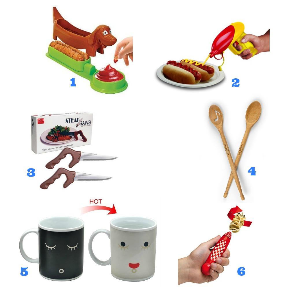 Kitchen gadgets collage 2