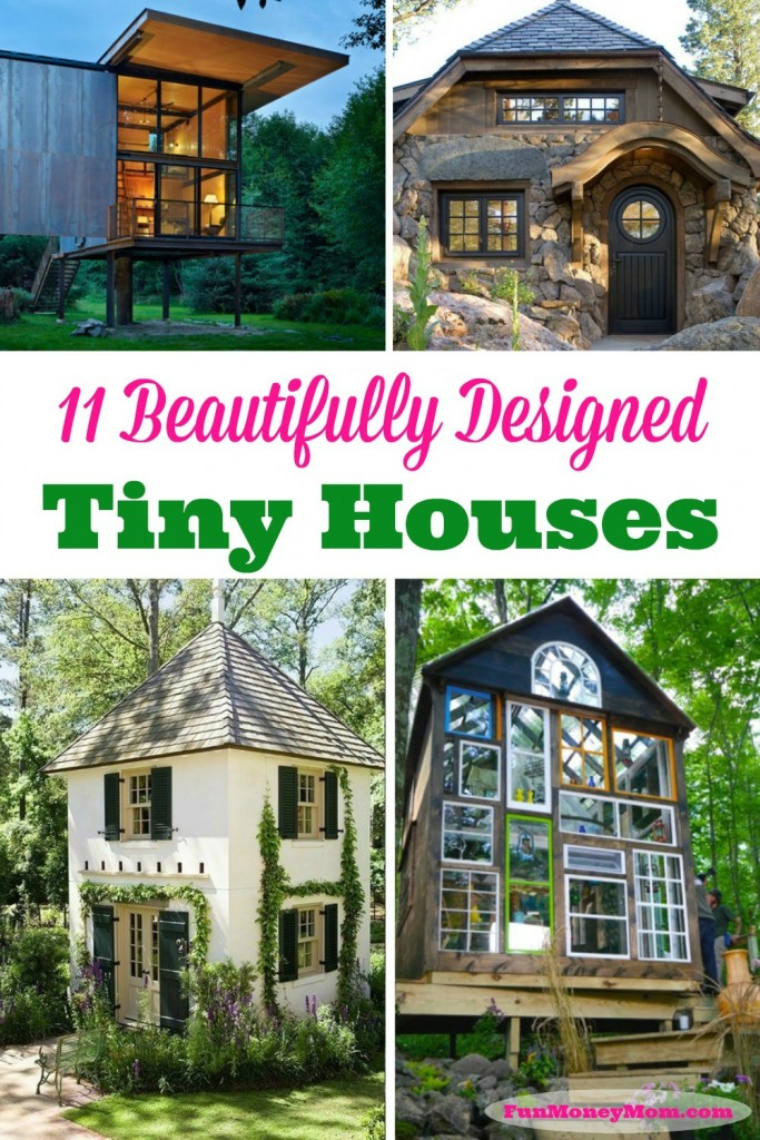 cute tiny house blueprints. These tiny houses are simple but oh so cute  Could you live in one 11 Beautifully Designed Tiny Houses Fun Money Mom