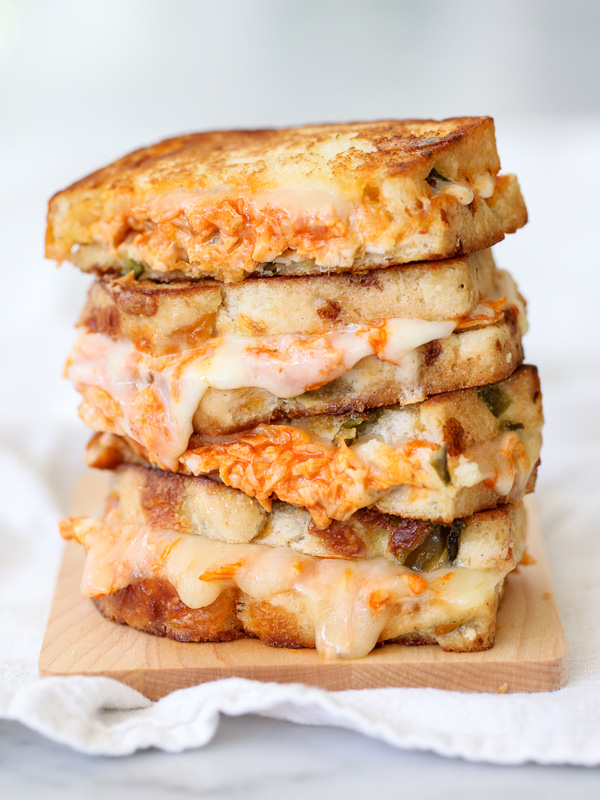grilled-cheese-sandwiches-buffalo-chicken