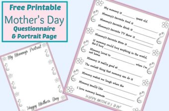 Mother's Day Questionnaire feature