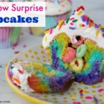 Fun & Easy Rainbow Surprise Cupcakes