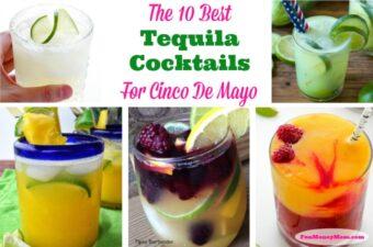 Cinco De Mayo Tequila Cocktails Feature