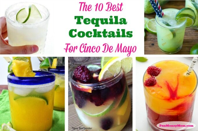 Cinco De Mayo Tequila Cocktails Feature