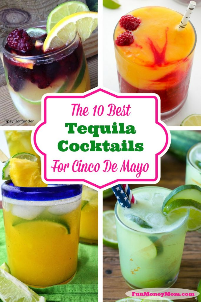 Margaritas aren't the only way to celebrate Cinco De Mayo! You'll love these delicious tequila cocktails!