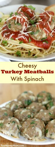 Want your kids to eat their veggies? Try this easy recipe for cheesy meatballs with spinach. They'll beg you to make this delicious pasta for dinner every night!