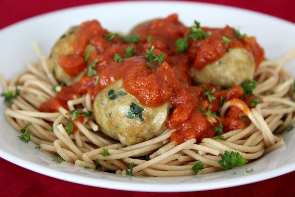 cheesy-turkey-meatballs-pasta