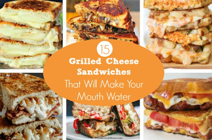 15 Of The Most Mouthwatering Grilled Cheese Sandwiches