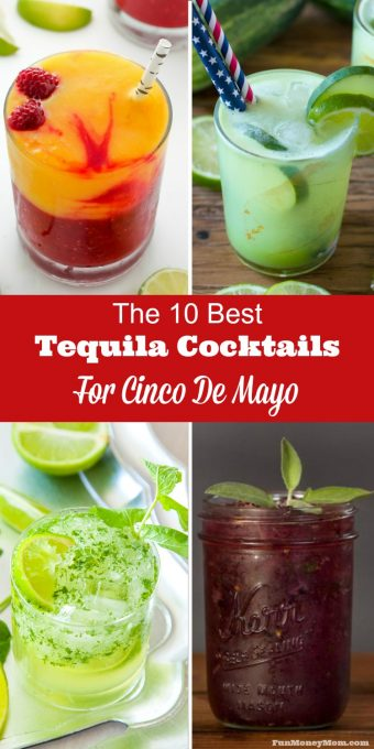 Margaritas aren't the only way to celebrate Cinco De Mayo! These delicious Cinco De Mayo cocktails will get you in a party mood!