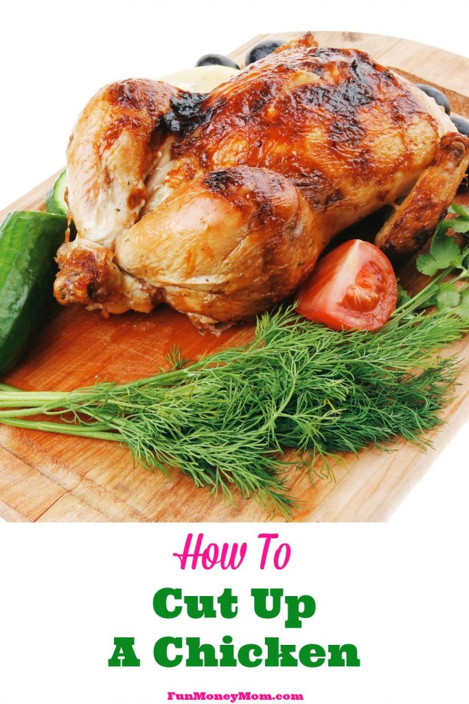 Ever wanted to learn how to cut up a chicken? Me too so I had Doug from The Kitchen Professor show me how with these easy step-by-step instructions!