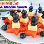 Memorial Day Fruit & Cheese Snack
