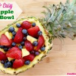 Quick & Easy Pineapple Fruit Bowl