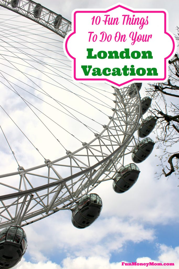 Have a London vacation planned? These were some of my favorite things to do...you'll definitely want to include them in your plans!