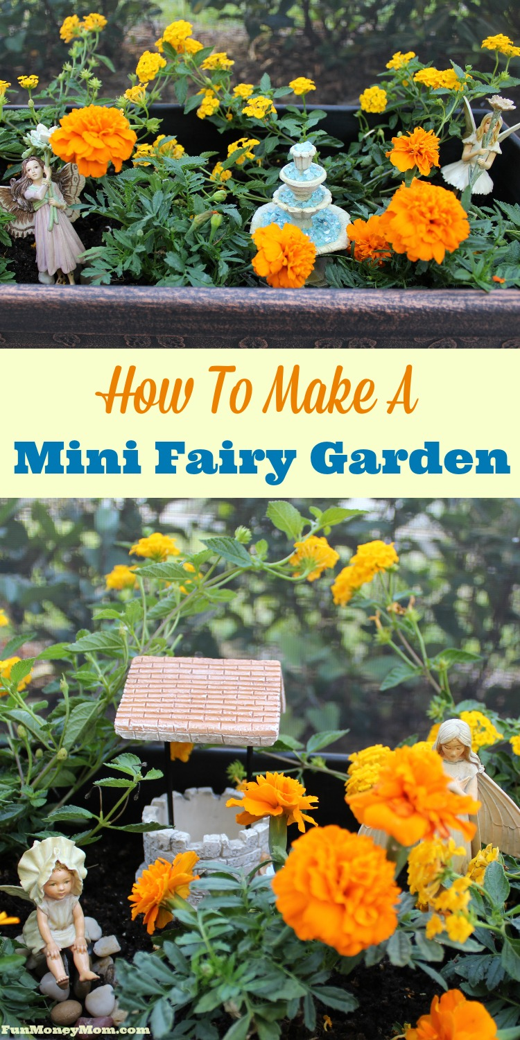 Looking for a fun kid's activity? What kid wouldn't love making an adorable mini fairy garden?!